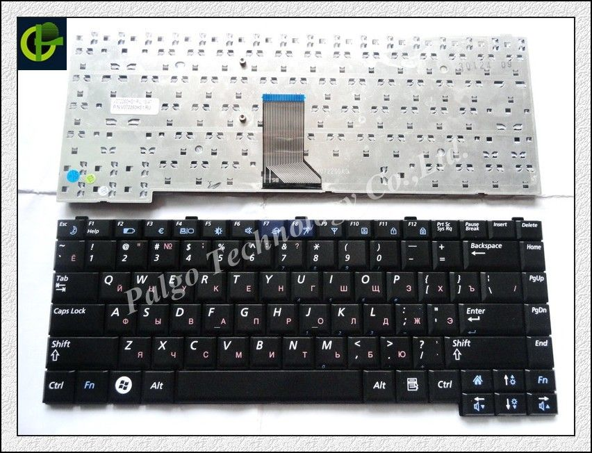 303c6838a02 Russian Keyboard for Samsung BA59-02295M BA59-01852C BA59-02044J  BA59-02044N BA59-02044P CNBA5901852CBIL NSK-S7B0U RU Black #Affiliate