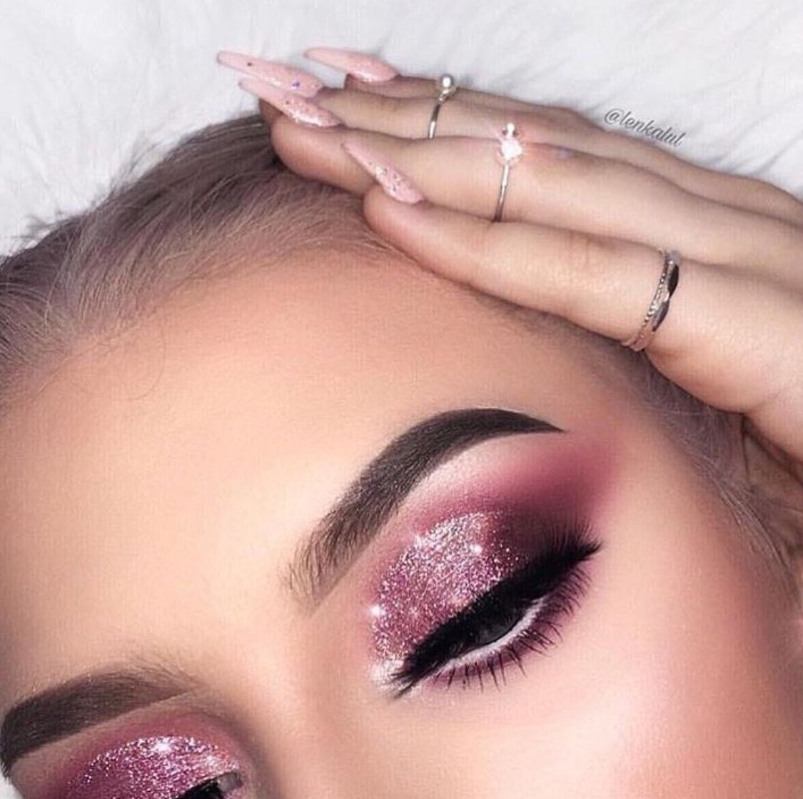 Image result for Pink Makeup pinterest