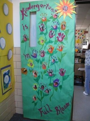 Cute Door Idea For Spring Crafts And Worksheets For