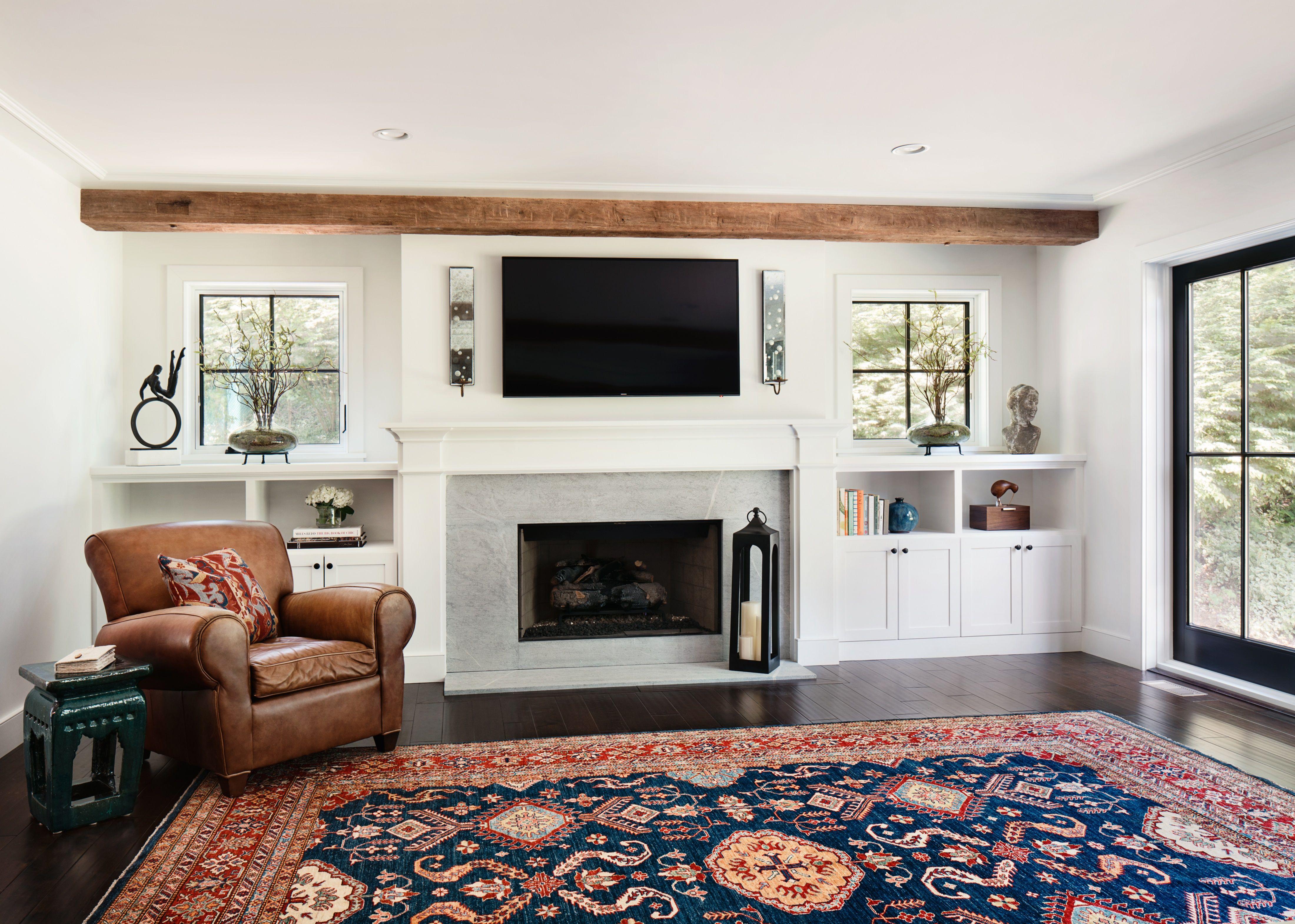 Oakwood Residence Family Room Z Interiors Architecture