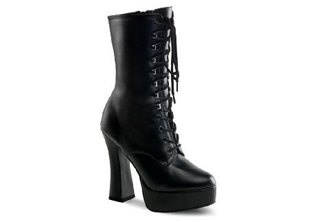 76d2e96285 Pleaser Shoes Electra 1020 Ankle Boot - Size: UK 3 ELE1020/B/PU