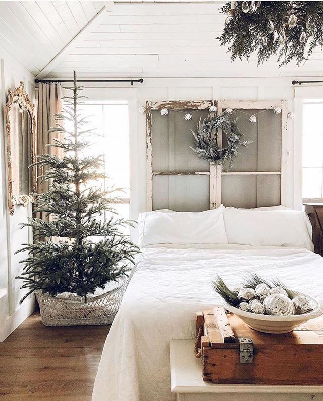 White Bedroom Ideas With Wow Factor: Beautiful Christmas Decoration Ideas To WOW