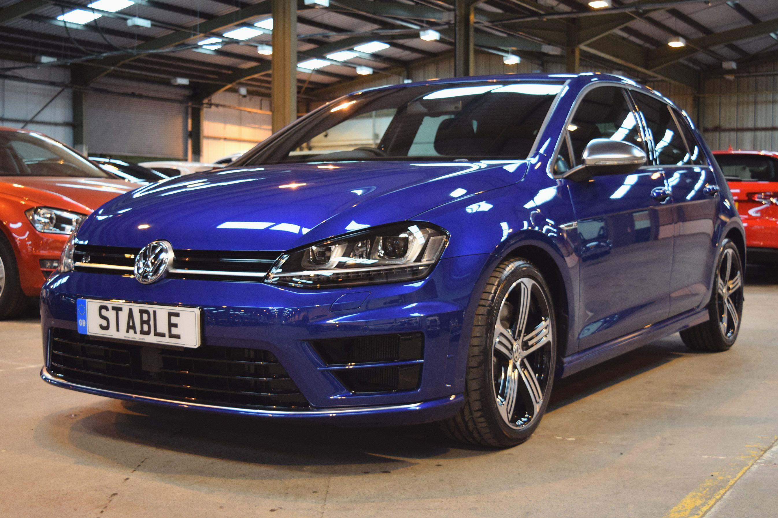 2016 Volkswagen Golf R In Lapiz Blue Volkswagen Golf R