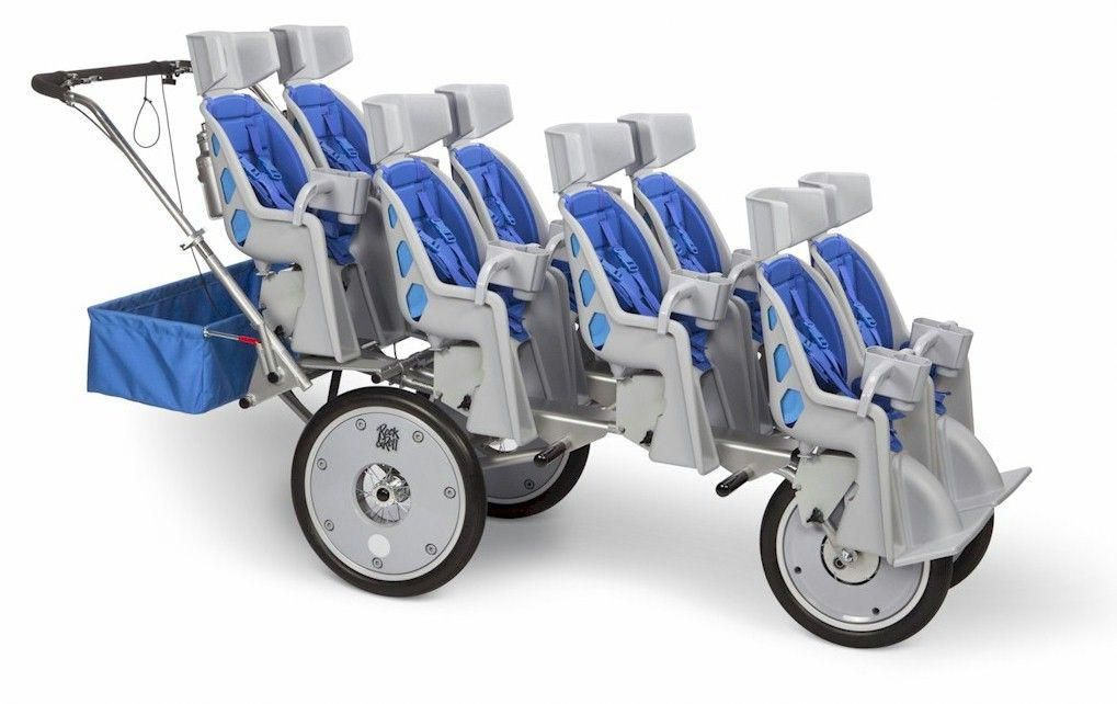 8 SEATER... runadaycare Quad stroller, Stroller, Kids