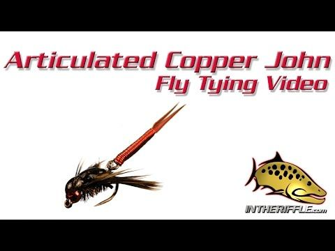 Articulated Copper John Nymph Fly Tying Video Instructions Fishing