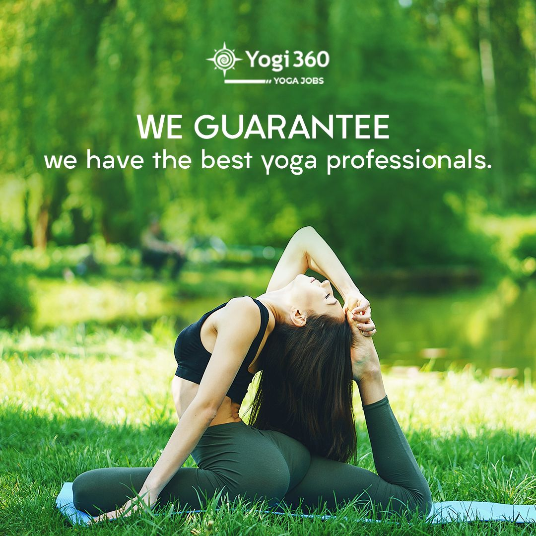 With Yogi360 Jobs find the one for your yoga institution