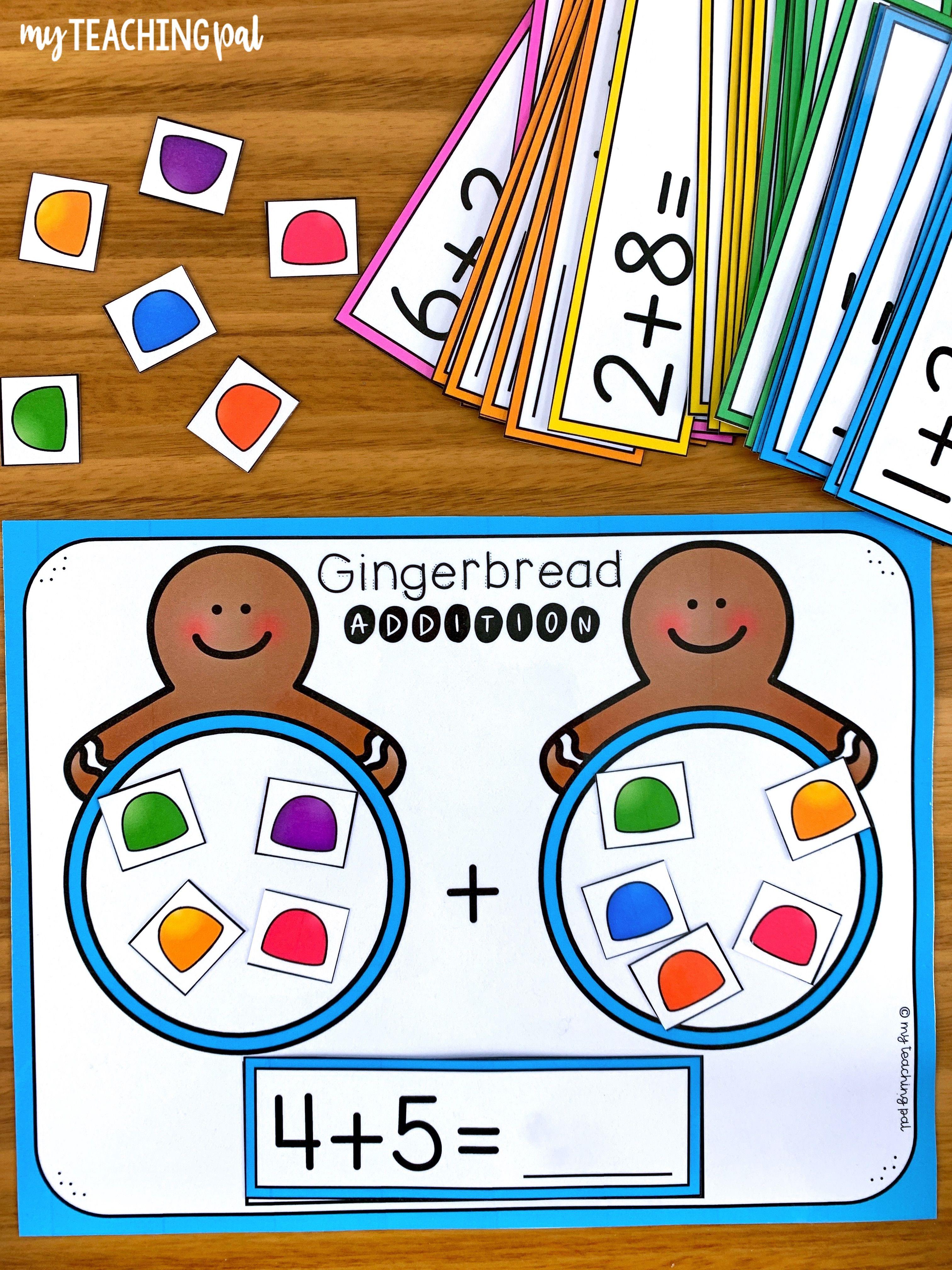 Gingerbread Activities For Kindergarten