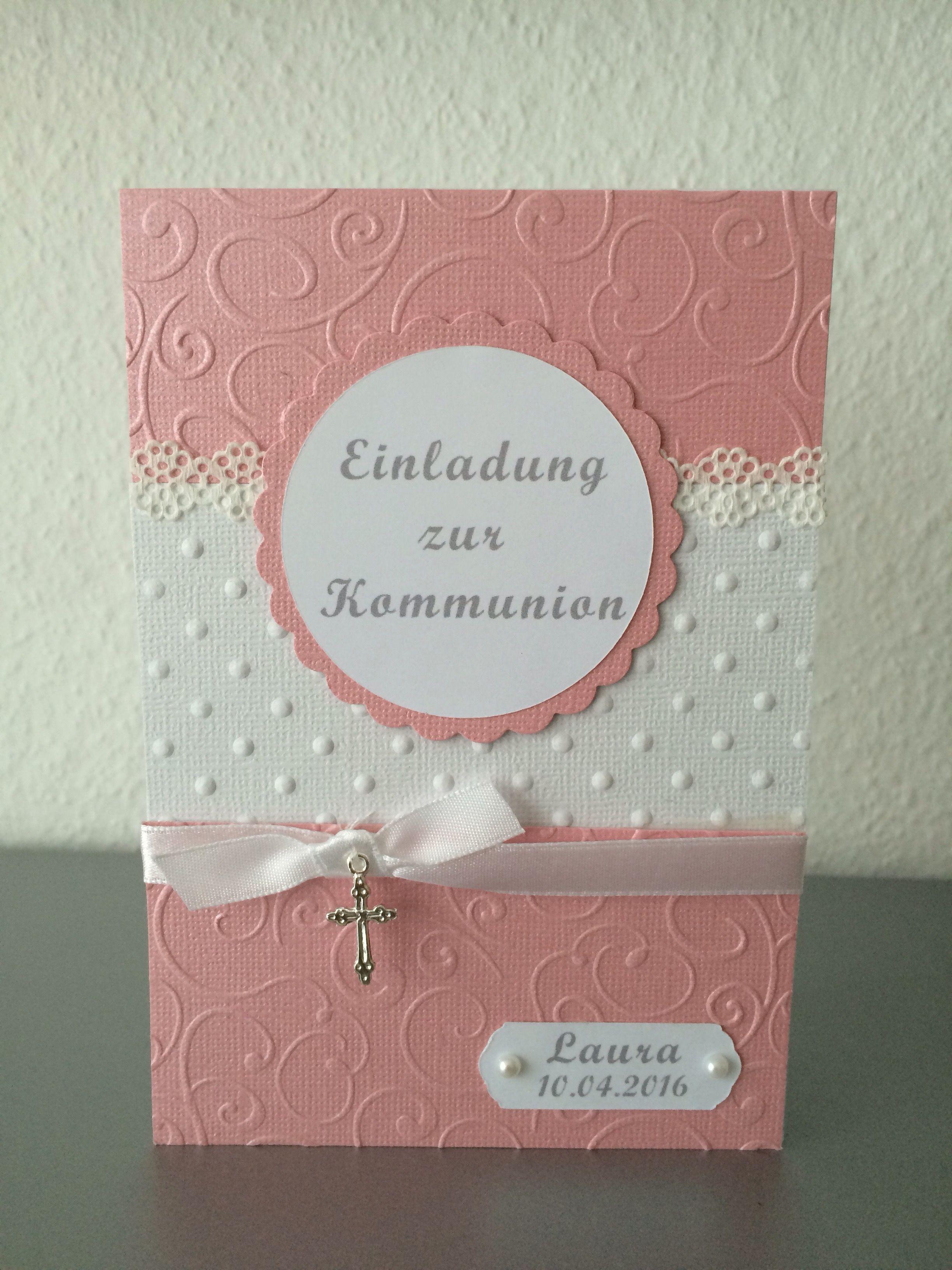 zauberhafte karten für jeden anlass | einladung kommunion