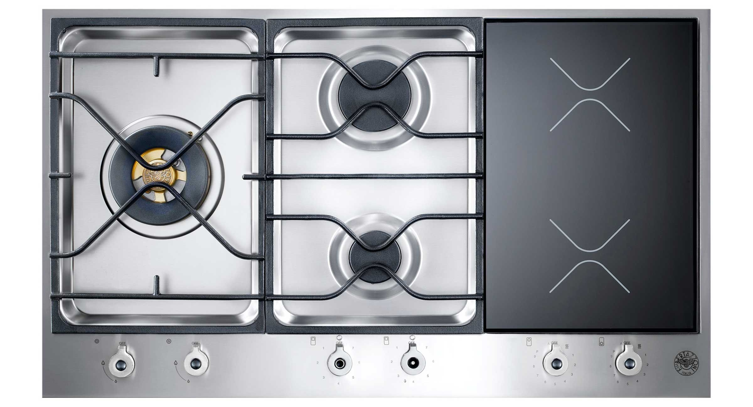 Bertazzoni Gas & Induction Cooktop This is my new cooktop. Can\'t ...
