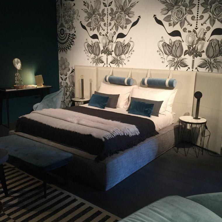 Graue Farbe wie man es in das Schlafzimmer integriert - schlafzimmer wand ideen
