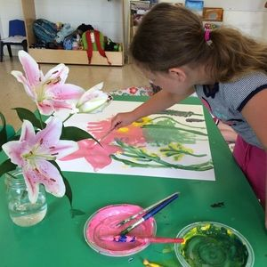 Paint Explorations- Join the awesome instructors at Hands On Minds On Art Studio