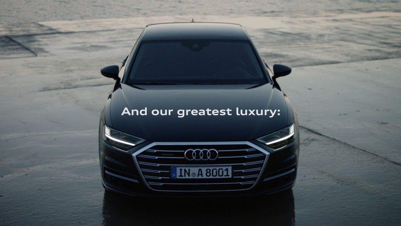 Photo of The new Audi A8.