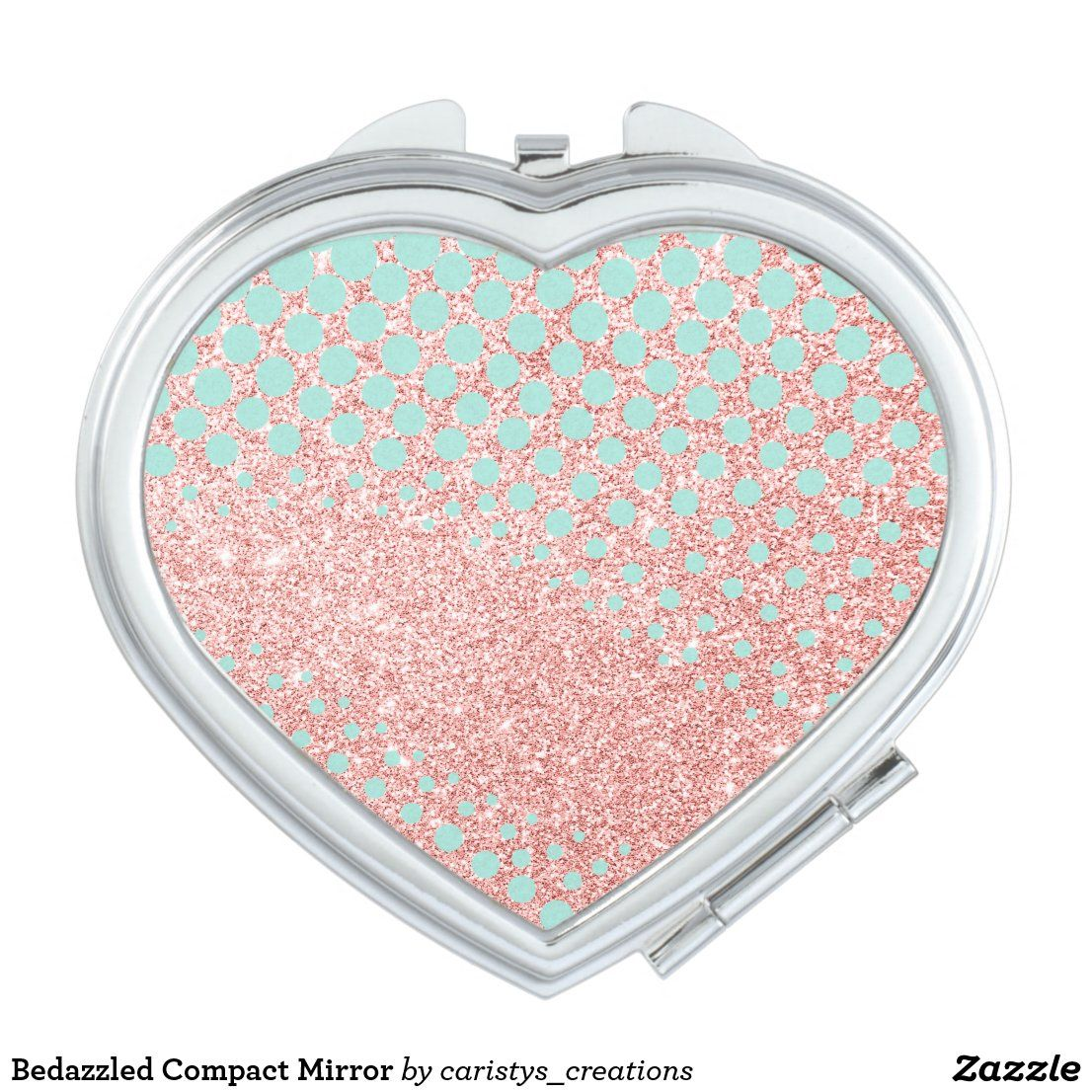 Bedazzled Compact Mirror