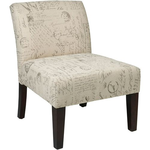 Laguna Accent Chair Walmart Com Osp Home Furnishings Upholstered Dining Chairs Comfortable Accent Chairs