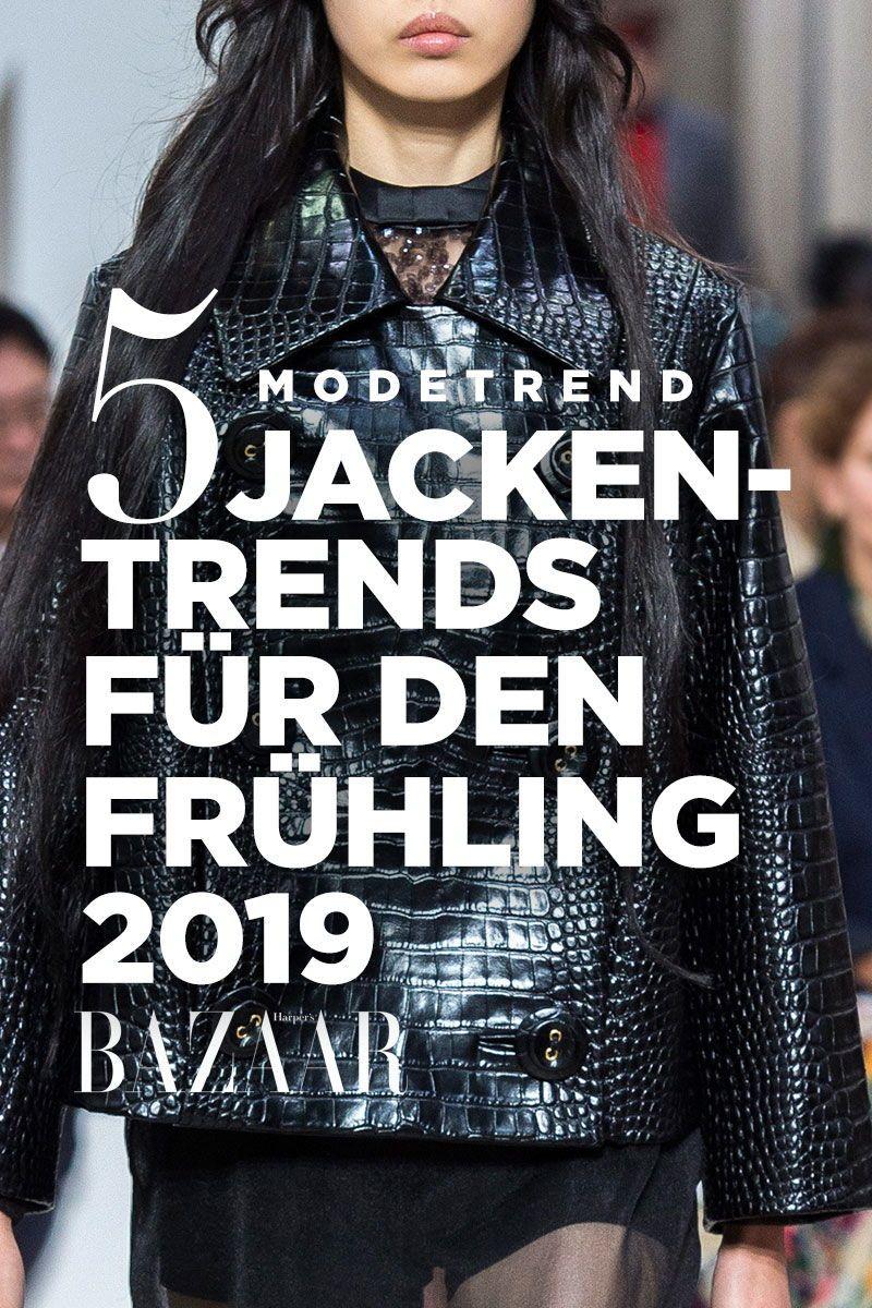 Modetrend FrühjahrSommer: 5 Jacken für den Frühling 2019