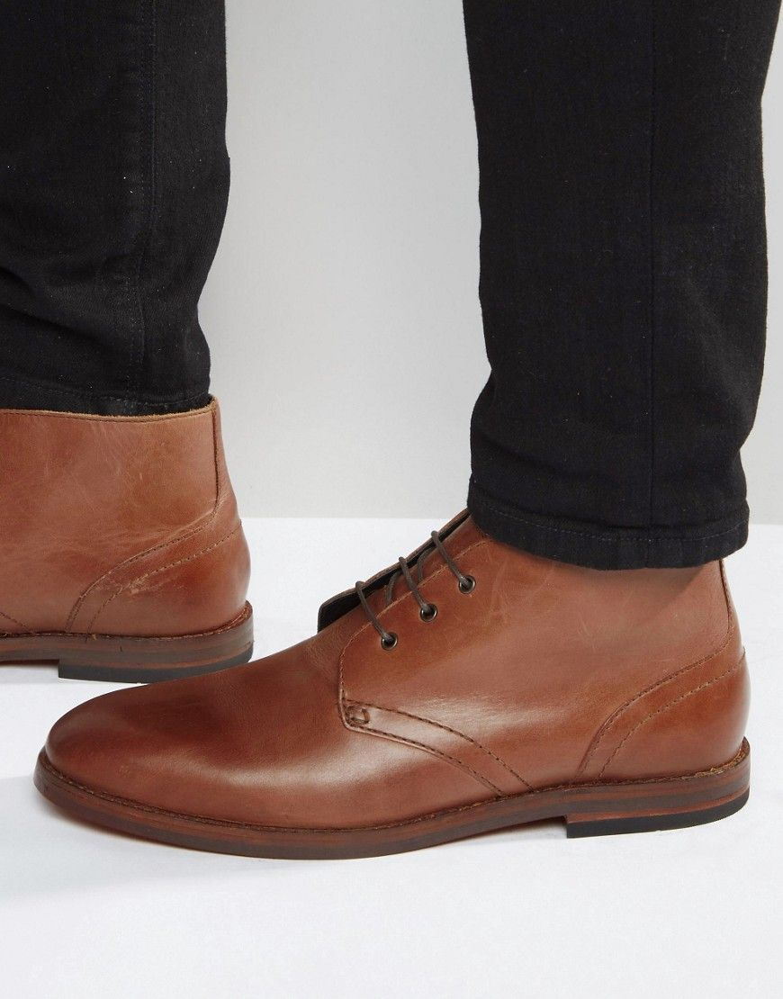 Buy Men Shoes / H By Hudson Houghton Leather Chukka Boots