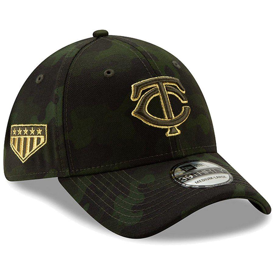 the best attitude bd3f8 67edd Minnesota Twins New Era 2019 MLB Armed Forces Day 39THIRTY Flex Hat - Camo,  Your