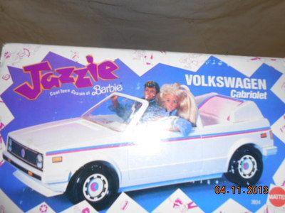 Vintage 1988 Jazzie Volkswagen Cabriolet