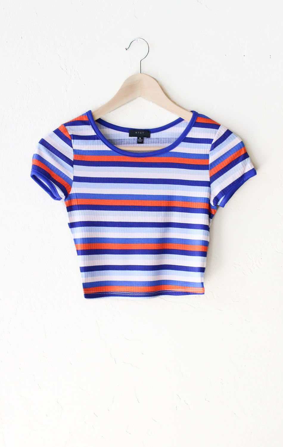 Top CROPPED Stripes Tops Kleding