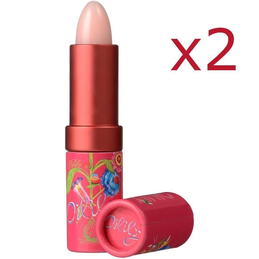 Le baume à lèvres Oilily prend soin de vos lèvres. Il contient des actifs permettant d'éviter que celles-ci ne se dessèchent. Grâce à la Candellila et à la cire de Carnauba, ce baume rend vos lèvres très douces.