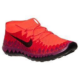 buy online 44365 dfd0f Women s Nike Free Flyknit 3.0 Running Shoes   FinishLine.com   Bright  Crimson Black