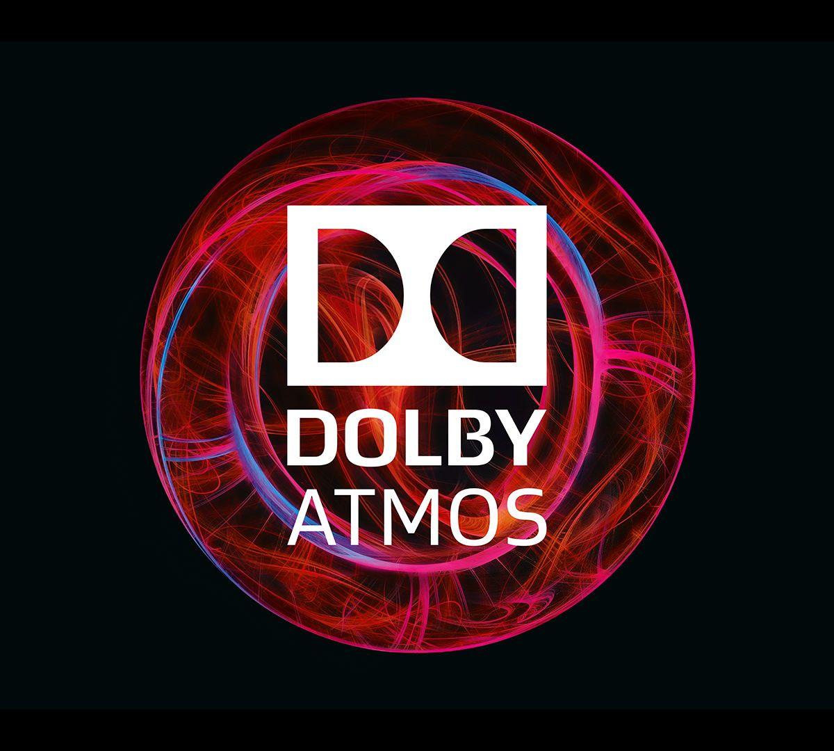 Risultati immagini per dolby atmos logo