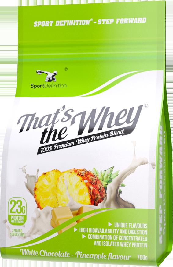 Sportdefinition That S The Whey 700g Bialko Probki Protein Blend Whey Whey Protein