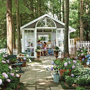 Backyard Escape: Romantic Conservatory~Cozy!