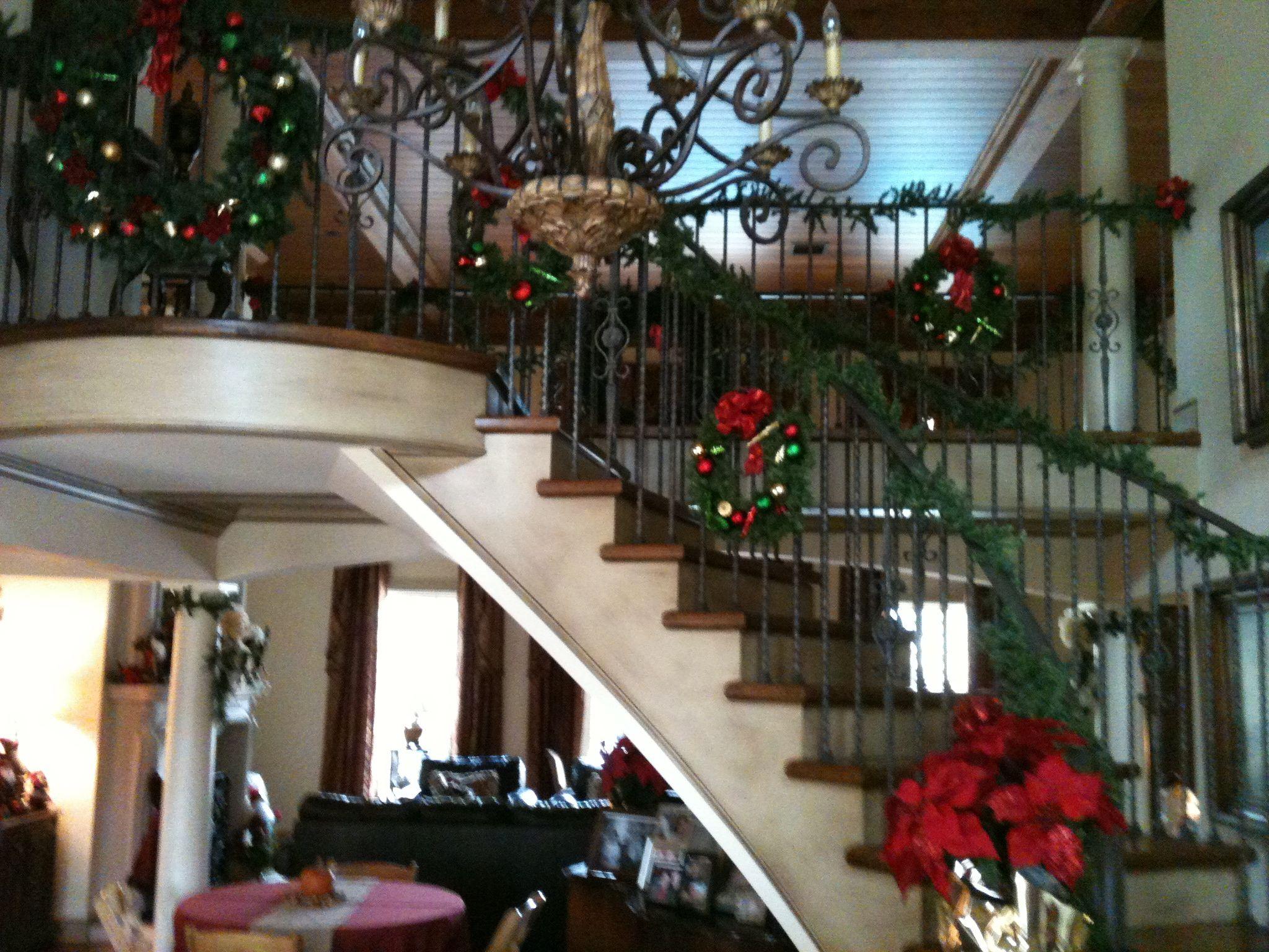 Christmas Staircase Christmas Pinterest
