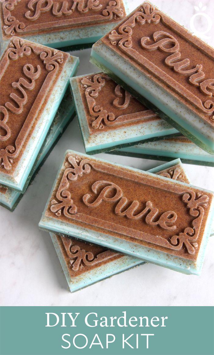 Gardener melt u pour soap kit recipe craft diy baths and