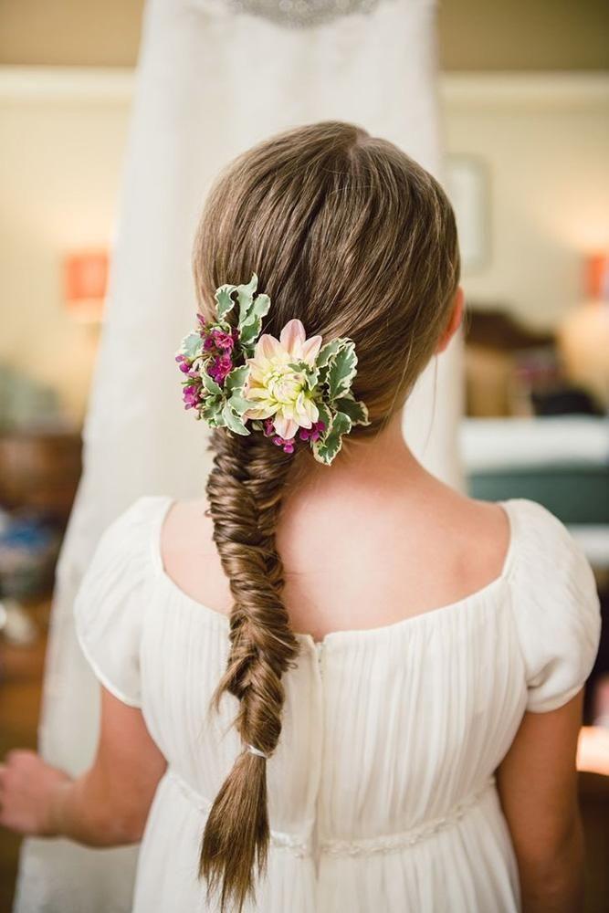 39 cute flower girl hairstyles 2020 update  flower girl