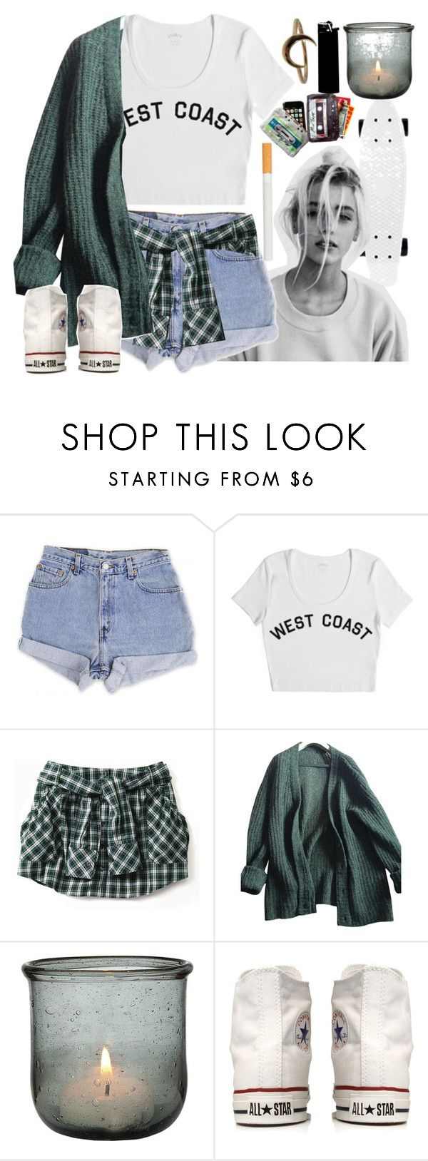 """Teenage Dirt Bag #73"" by jlol ❤ liked on Polyvore featuring Levi's, Stampd, Prada, Converse and Lulu Frost"