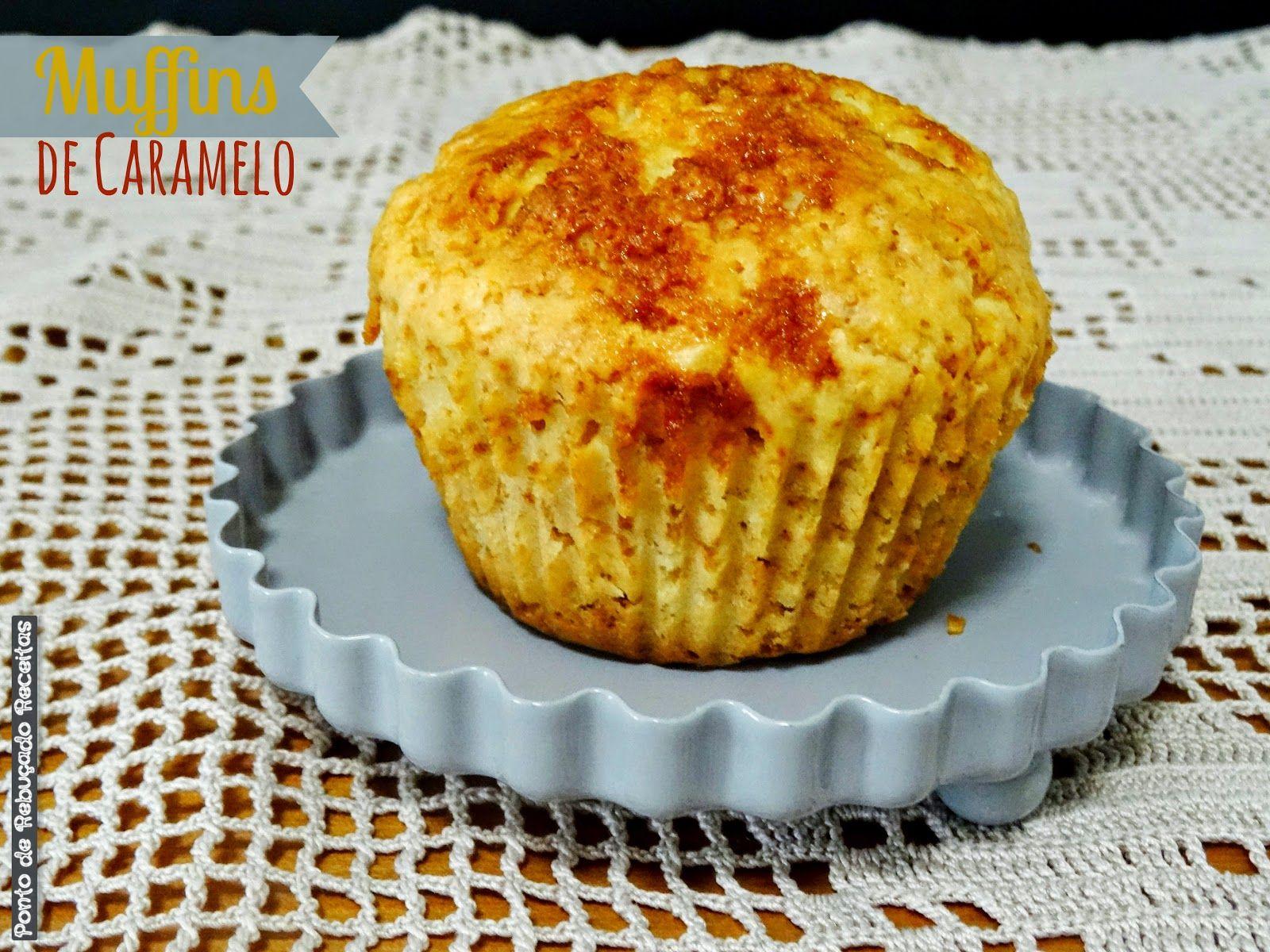 Muffins de caramelo