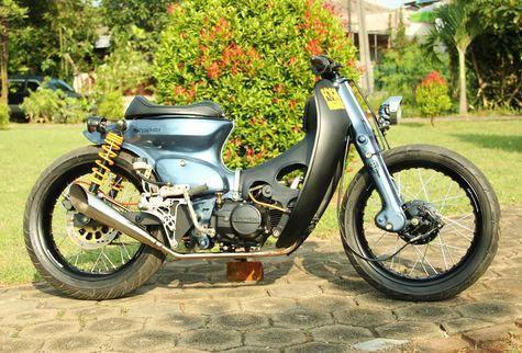 kumpulan modifikasi motor honda 80
