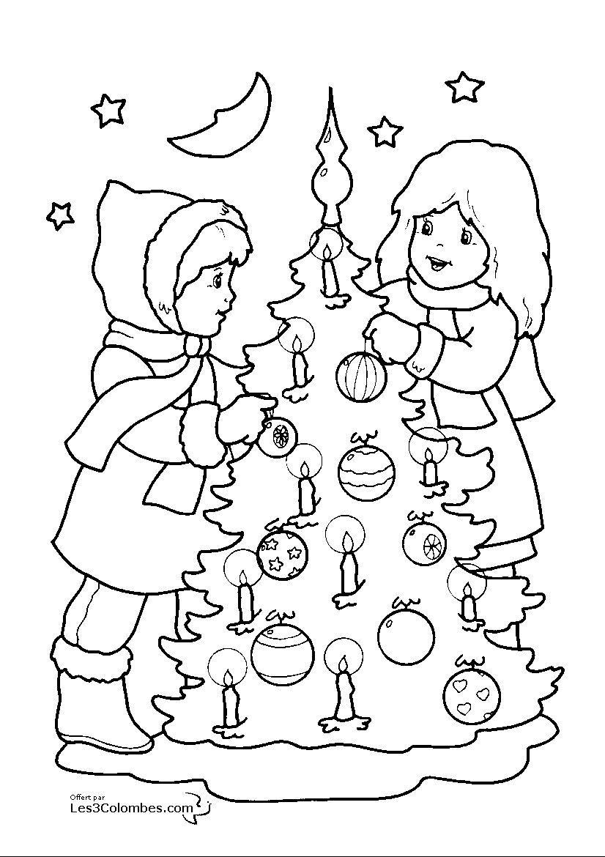 Coloriage Noel: 22 Dessins À Imprimer Et À Colorier - Page 22