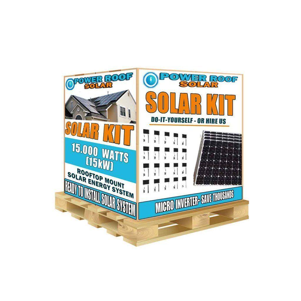 15000 Watt 15kw Solar Panels With Enphase Micro Inverters Solarpanelsstore Solarpower Solarpanelskit In 2020 Solar Panel Kits Solar Energy Panels Diy Solar Panel