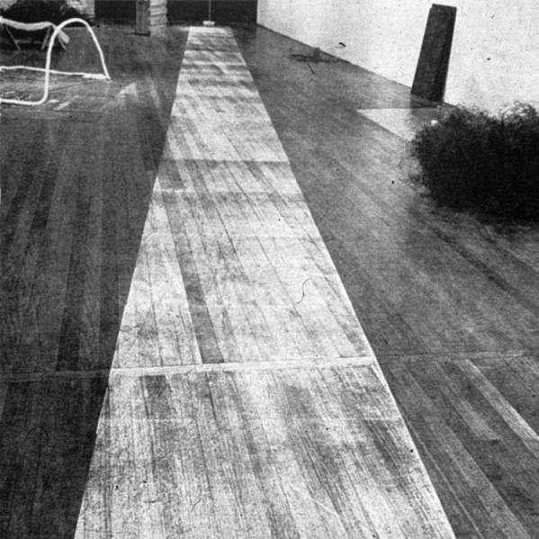 Victor Burgin 1967 Photopath When Attitude Become Form Art