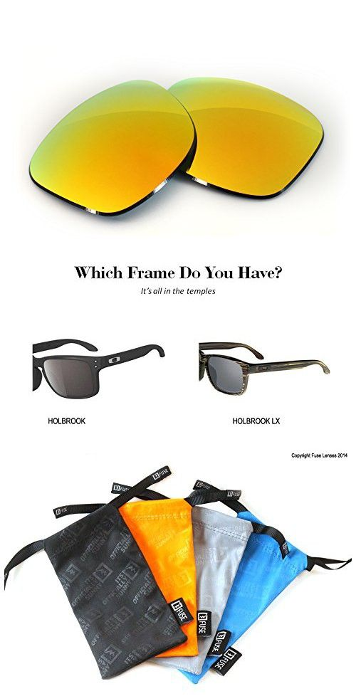 62ad1b73abe FUSE Cascade Mirror Tint Replacement Lenses for Oakley Holbrook ...