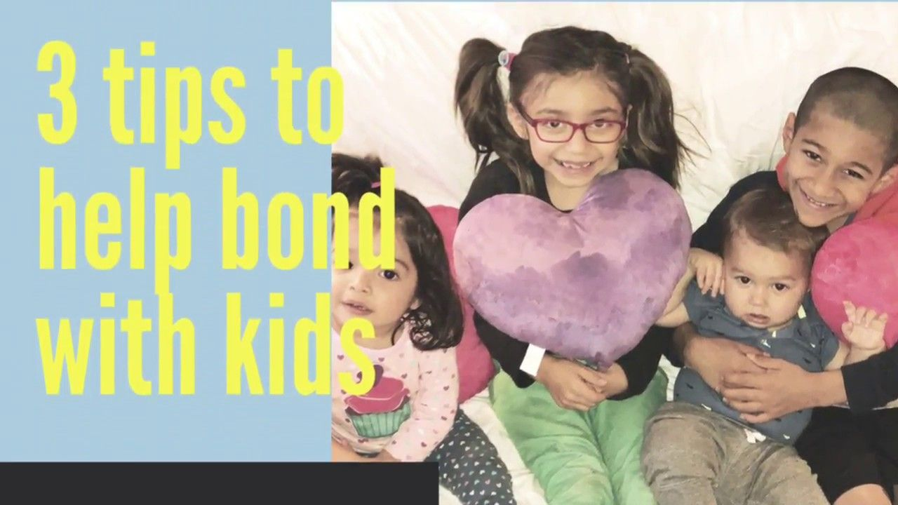 3 tips to help bond with kids (With images) | Adopting ...