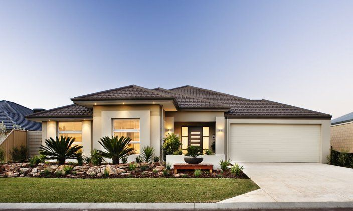 Front Elevation Australia : Dale alcock display homes the amari visit