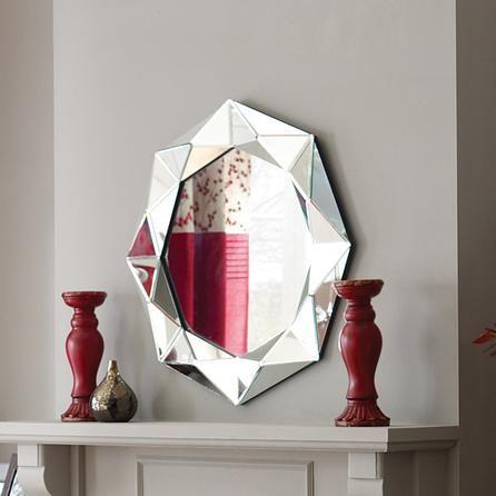 Pyramid Bevelled Mirror Dunelm Mill Beveled Mirror Mirror
