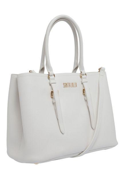Bolsa Santa Lolla Risco Branco - Marca Santa Lolla  526389cb5b5