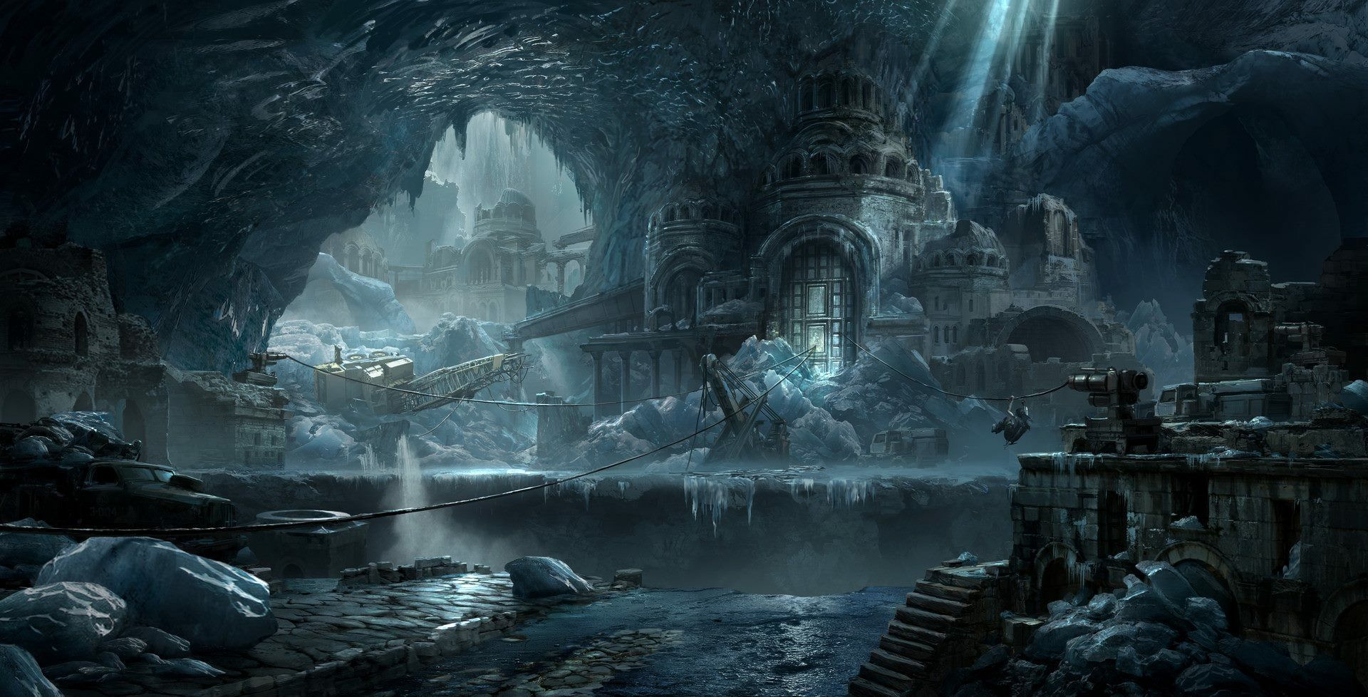 Pin By Jason On Environments With Images Tomb Raider Artwork