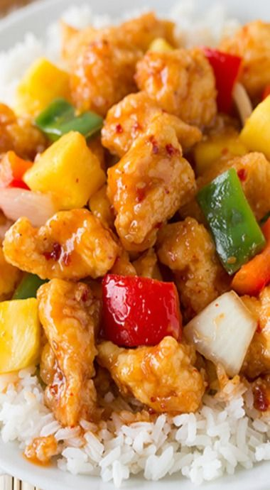 Sweet And Sour Chicken Wok And Roll In 2018 Pinterest Recipes