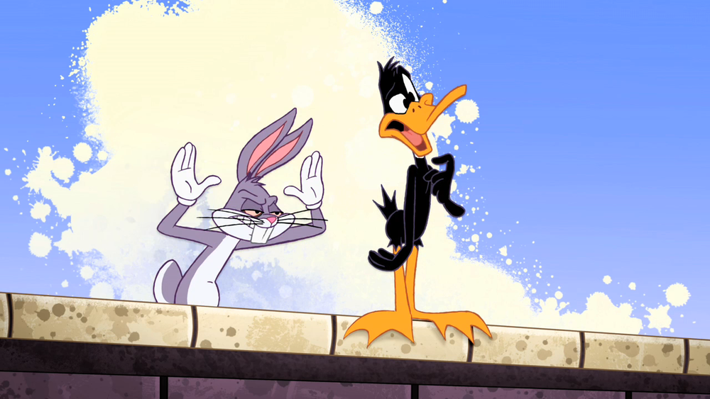 Bugs Daffy Get A Job Looney Tunes Show Looney Tunes Bugs Bunny Looney Tunes Characters