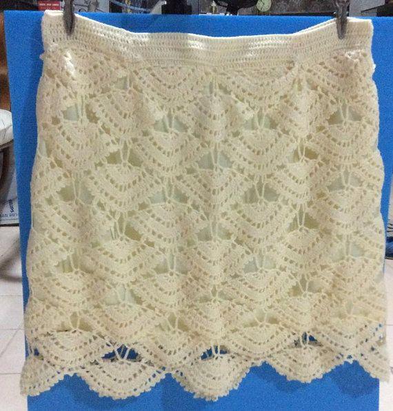 Crochet wearable  Skirt   Made to order  Crochet by Kninghandmade