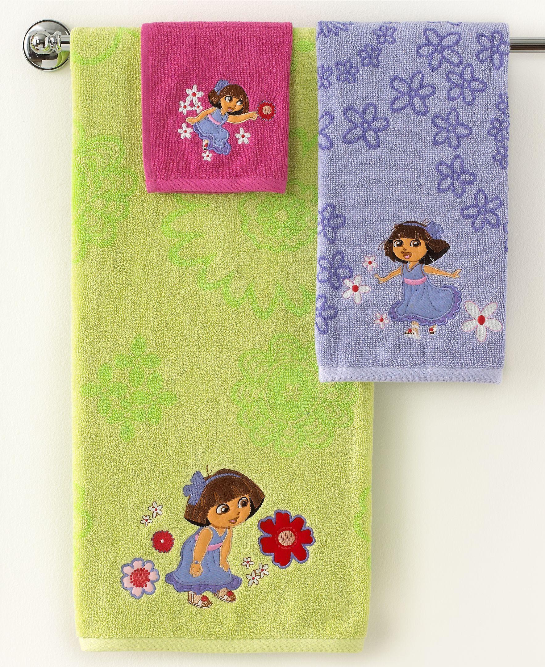 Jay Franco Bath Towels Dora Picnic 16 X 26