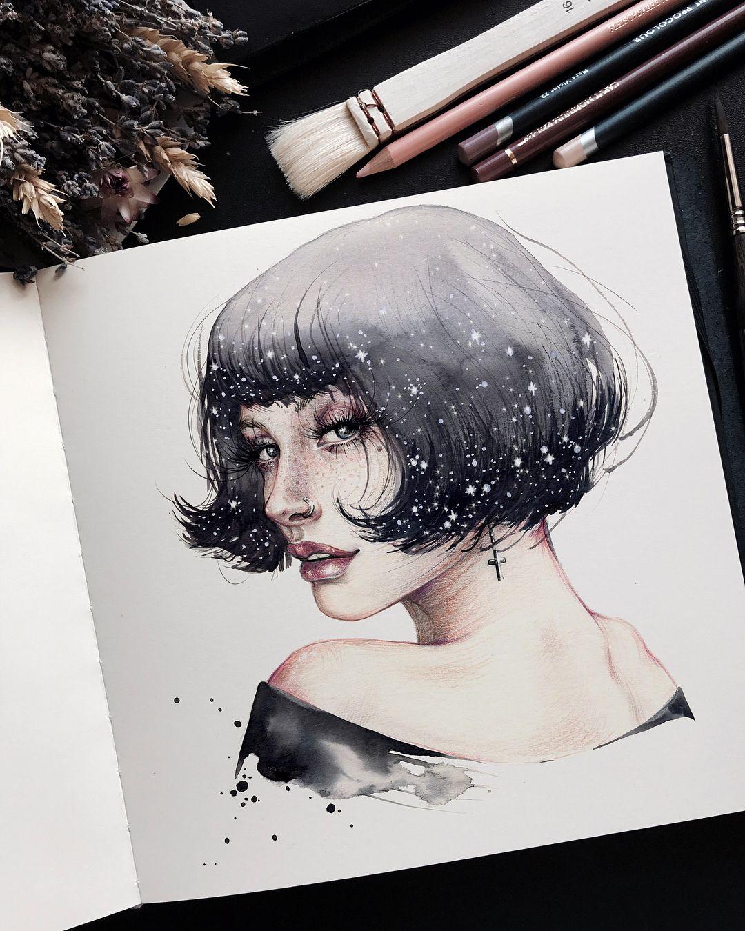 Art drawings · всегда мечтала психануть и отстри