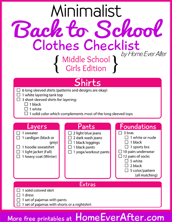 dating tips for girls in middle school 2017 printable list