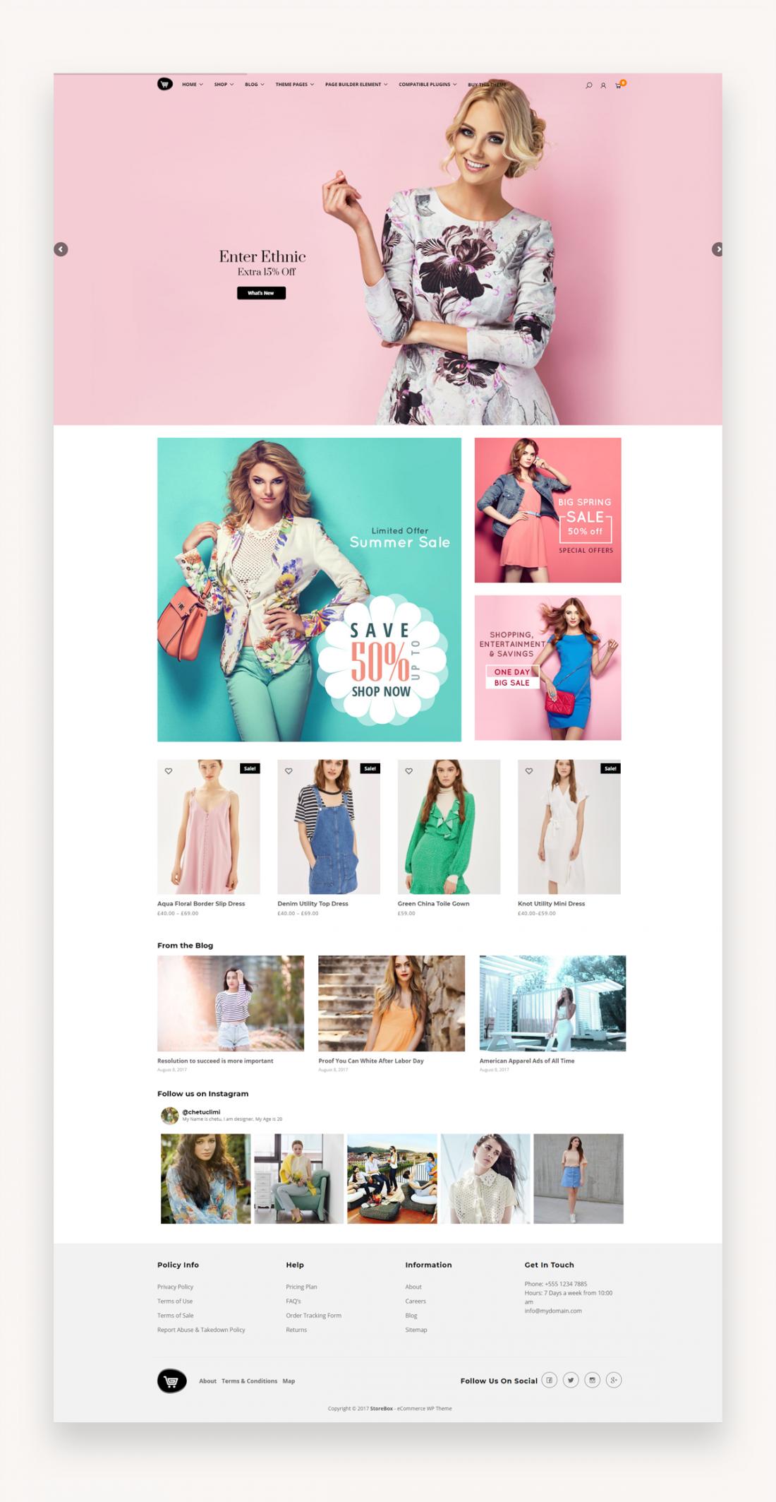 Storebox - eCommerce WordPress Theme - Market WP Themes